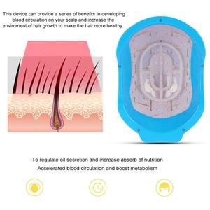 Image 3 - Capacete laser para crescimento de cabelo, tratamento anti perda de cabelo promove o crescimento do cabelo, equipamento de massagem