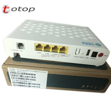 Top qualità ZTE ZXHN F623 GPON ONU con 1GE + 3FE + 1 Voce + USD + WIFI, versione inglese fibra optica GPON ONT Router