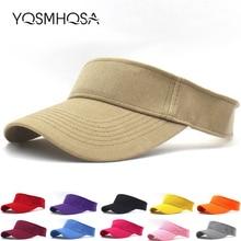 Casual Summer Sun Visor Hat Snapback Baseball Caps Women Mens Cap Sport Hip Hop Bonnet Unisex WH080