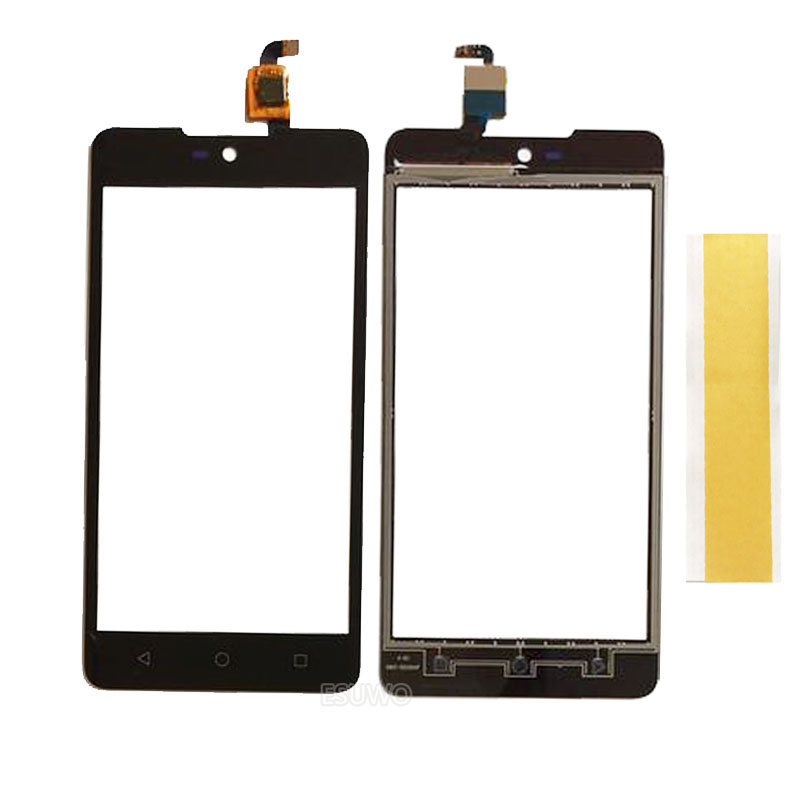 Black Touch Screen Digitizer For Micromax Canvas Selfie 2 Q340 Touch Panel Digitizer Outer Glass Lens Sensor Replacement