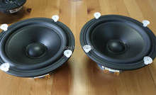 pair Vifa P17 wj-00-08 8ohm 6.5/7 inch hifi hiend pp cone midbass woofer (Melo David)(China)