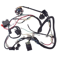 GY6 150cc Electric Stator Wire Harness Coil CDI Rectifier Solenoid For Loom Kit