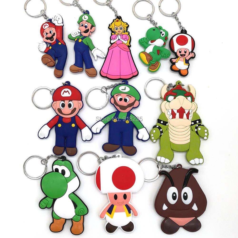 Toys & Hobbies New Fashion Mario Luigi Star Mushroom Totoro Hello Kitty Princess Mickey Minnie Mouse Lanyard Keys Id Cell Phone Neck Strap Toys Pcxb