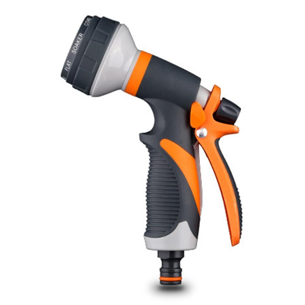 Watering Water Gun Lawn Hose Tools Durable Multi-function Garden Spray High Pressure Sprinkle Hand-held Car Wash Nozzle