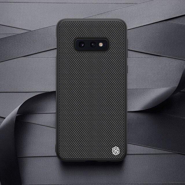 Nillkin Nylon PC Plastic Back Cover for Samsung Galaxy S10e case protector cover 5.8 For Samsung S10e