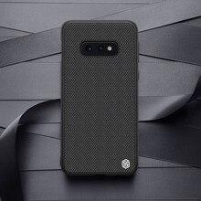 Nillkin Nylon Plástico PC Tampa Traseira para Samsung Galaxy S10e caso protetor capa 5.8 Para Samsung S10e
