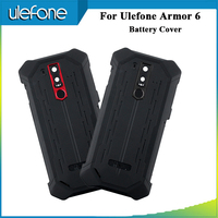Ulefone Armor 6 Battery Cover 6.2 Replacement Protective For Ulefone Armor 6 Phone Bateria Cover Anti knock New