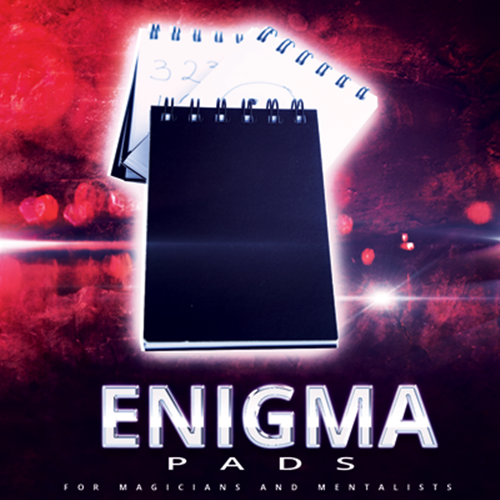 Enigma Pad (3 Pack Gimmick) By Paul Romhany - Mind Magic Tricks Close Up Magia Illusions Prophecy Card Magic Toys Joke Magician