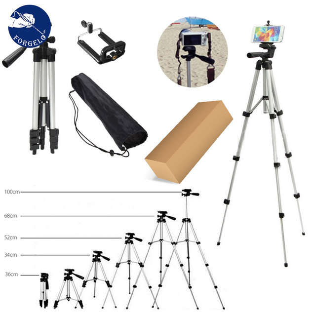 36-100 cm Universal Adjustable Tripod Stand