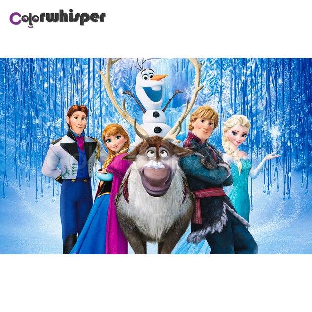 En Iyi Secilen Prenses Elsa Boyama Resim Boyama