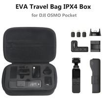 New arrival FOR DJI OSMO Pocket Gimbal Accessories Portable Mini Carry Case EVA Box Storage Bag OSMO Pocket Handheld Gimbal Bag