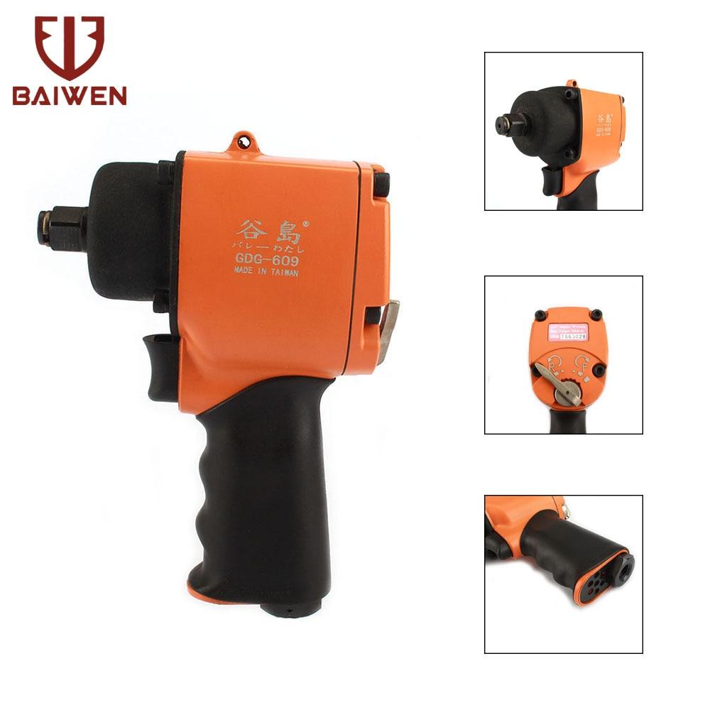 1/2 Air Impact Wrench Twin Hammer For Car Repairing Pneumatic Tool Max Torque 500ft/lb1/2 Air Impact Wrench Twin Hammer For Car Repairing Pneumatic Tool Max Torque 500ft/lb