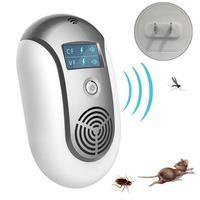 Rejector para Mouse Morcegos Formigas Pulgas ultra sônica 5 W 5Hz Repelentes De Pragas Eletrônico à prova de umidade  à prova d' água. Repelentes     -