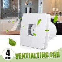 4 Inch 12W Exhaust Fan kitchen Ventilator 220V Ventialtion Cooling Vent Extractor Quiet Wall Bathroom Toilet Window Air Fan