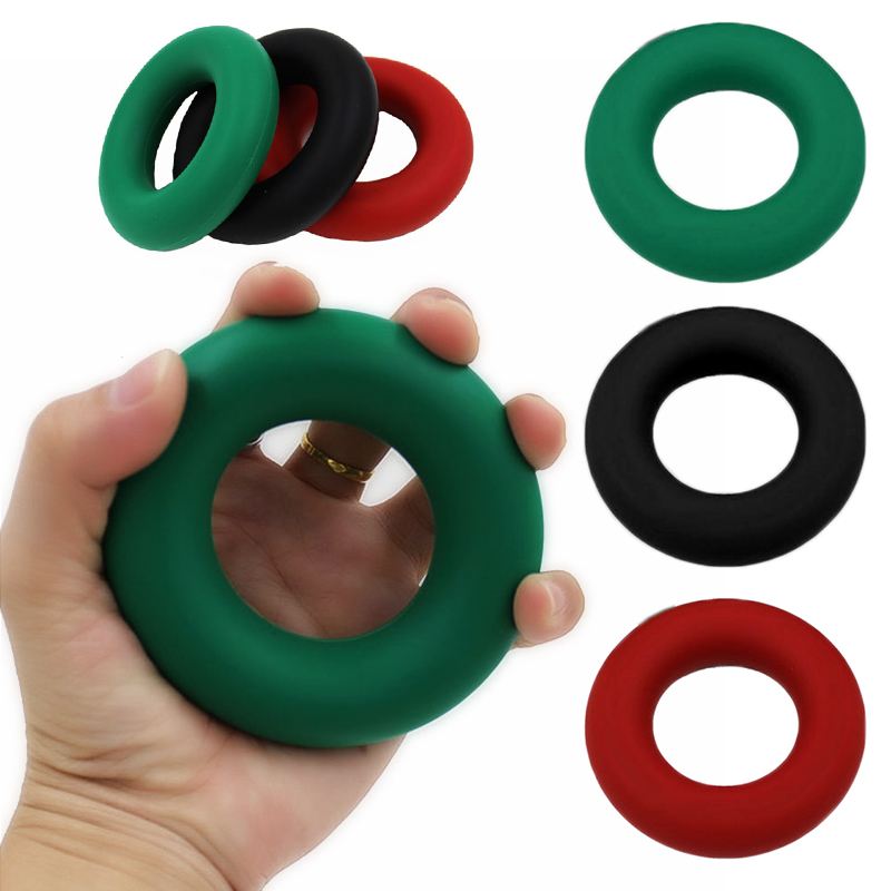 Eco-friendly Silicone Grip Ring Hand Muscle Grip Training Tool Finger Exerciser Hand Grip Strengthener Rehabilitation Equipment