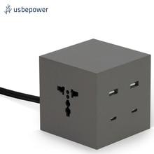 Зарядное устройство USBepower ICON цвет серо-коричневый/ICON_EUT