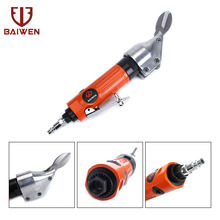 купить Air Pneumatic Metal Shear Scissor Straight Scissors Metal Cutting Cutting Stainless Steel 0.8mm Aluminum 1.6mm Iron Sheet 1.2mm дешево