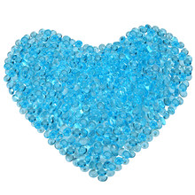 50g 7mm Slime Beads Blue Plastic Fishbowl Bead Acrylic Vase Fish Bowl Fillers Children DIY Craft Accessories Novelty Toys(China)