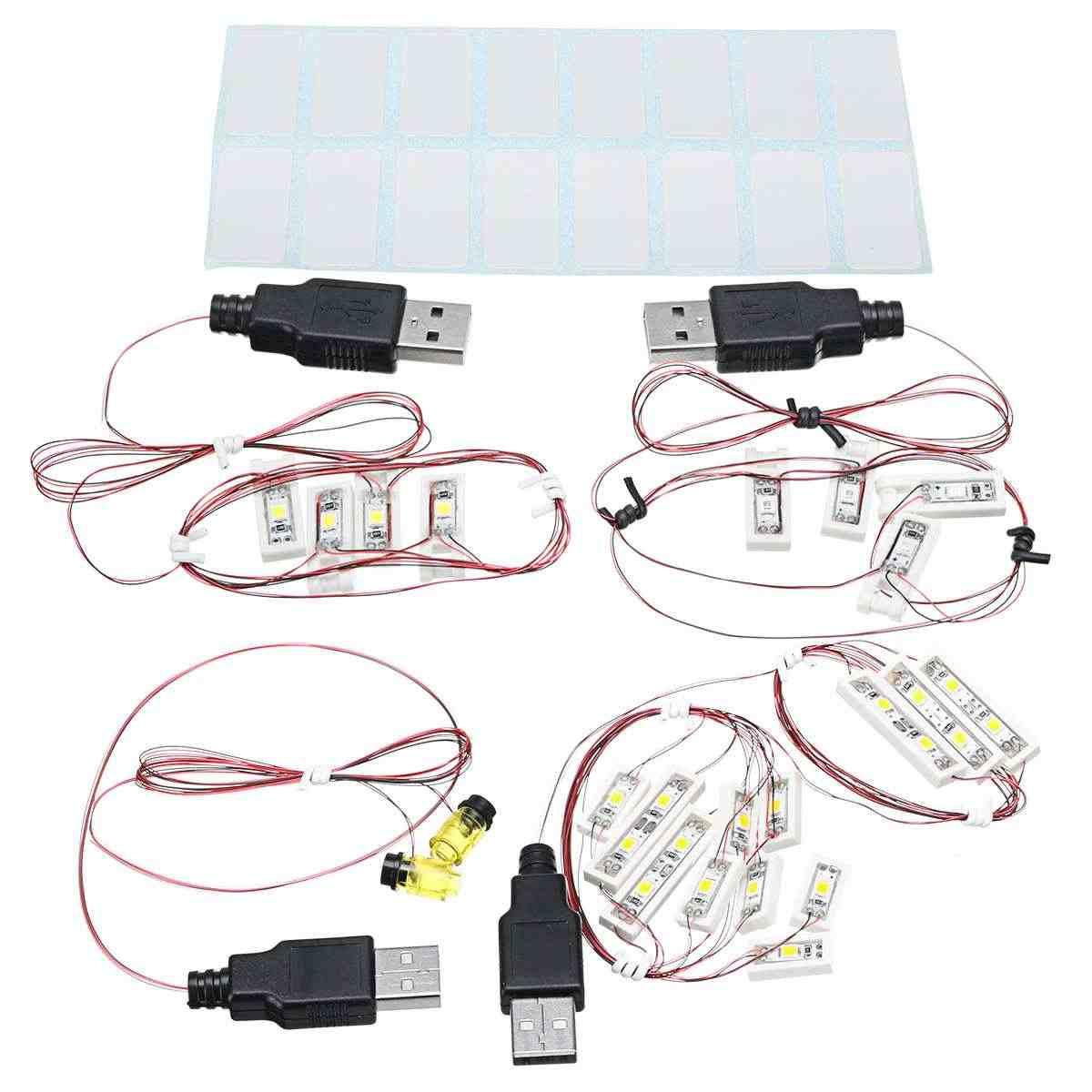 Zestaw oświetlenia LED dla Lego dla 71040 dla kopciuszek księżniczka zamek cegły dekoracyjne LED lampka nocna LED (Model nie wliczony w cenę)