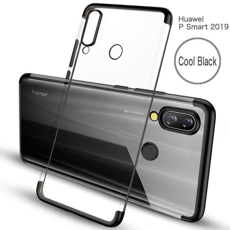 Untuk Huawei P Smart Y6 2019 P30 Pro Kehormatan 8C 8X Lite 8A P Smart PLUS Soft TPU Silikon Plating untuk Kehormatan 10 Lite Nova4 Phone Case