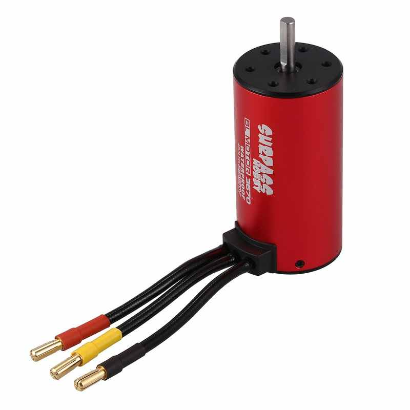 SURPASS HOBBY S3670 2150KV 4 Poles Sensorless Brushless Motor for 1/8 RC Car Truck Universal Parts