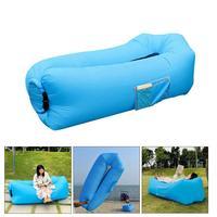 Portable Fast Inflatable Sofa for Outdoors Beach sofa sleeping bag inflatable air sofa bag & Adults Kids Camping Lounge Sofa Bed