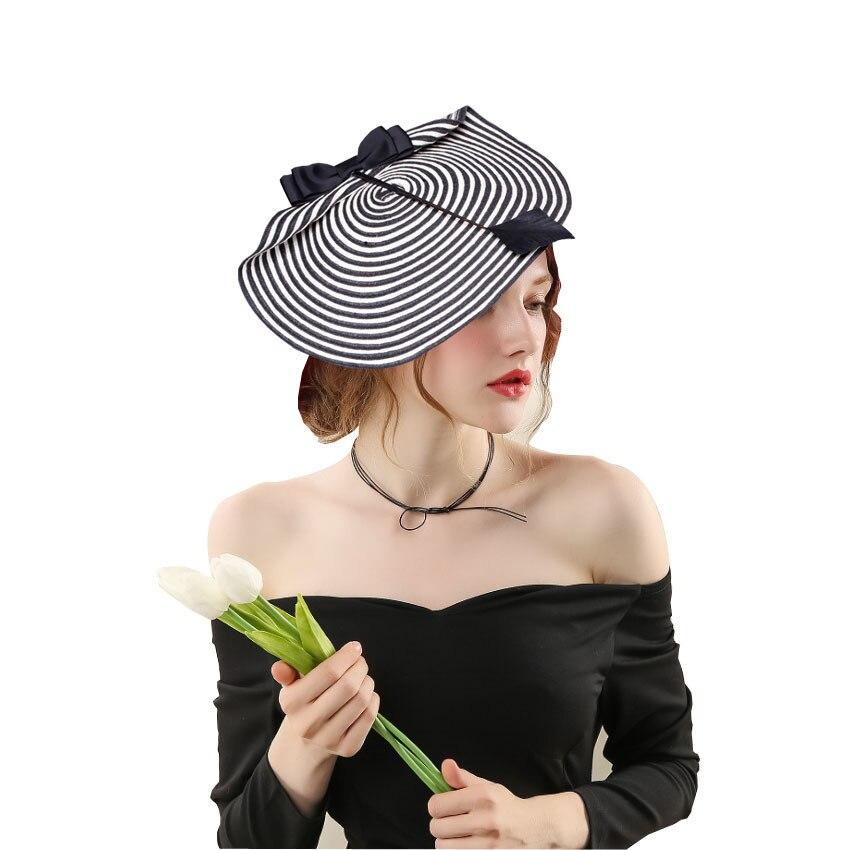 Top qualité fait à la main papier paille Fascinator modèle défilé de luxe chapeaux femme fête formelle Fedora chapeaux église casque