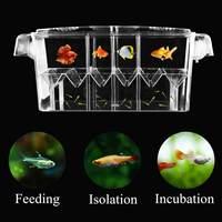 Инкубатор для аквариума 4 Grides разведение изоляционная коробка аквариум инкубационных прозрачные коробки Многофункциональный акриловый ак...