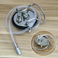 JX LCLYL Cornelius Style Keg HomeBrew Carbonation Keg Lid With 0.5 Micron Diffusion Stone
