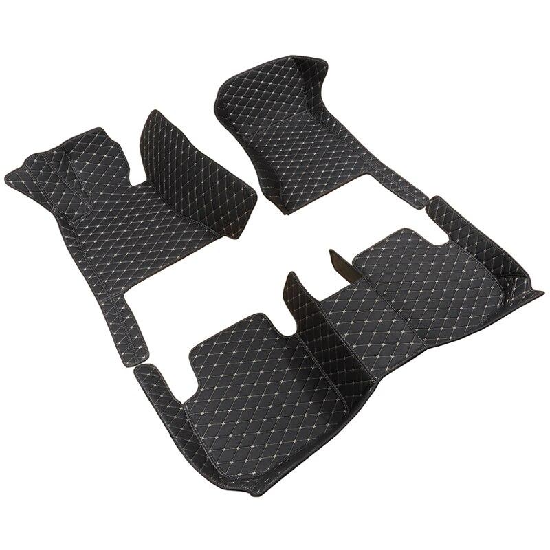 7 sièges voiture tapis de sol pour Audi Q7 2010-2019 voitures accessoires tapis voiture