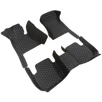 Car Floor Mat for Audi A7 4G 4K A6 Allroad C6 C7 C8cars accessories car styling floor mat