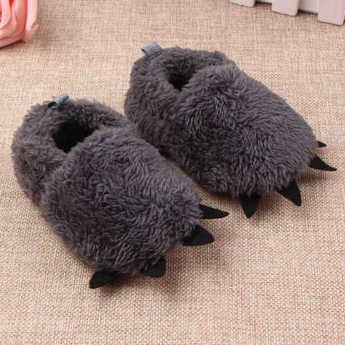 Baby Plüsch pfote kleinkind schuhe Neugeborenen Baby Junge Mädchen Schafe Fleece Booties Sohle Pram Schuhe Stiefel Krippe Prewalker