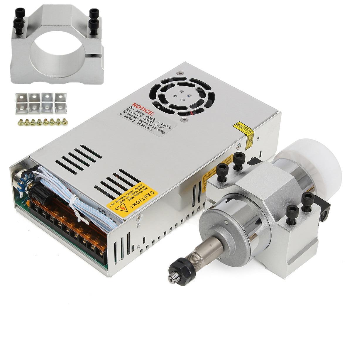 300 W 12000 tr/min haute vitesse broche moteur ER11A 3.175mm pince pour bricolage gravure