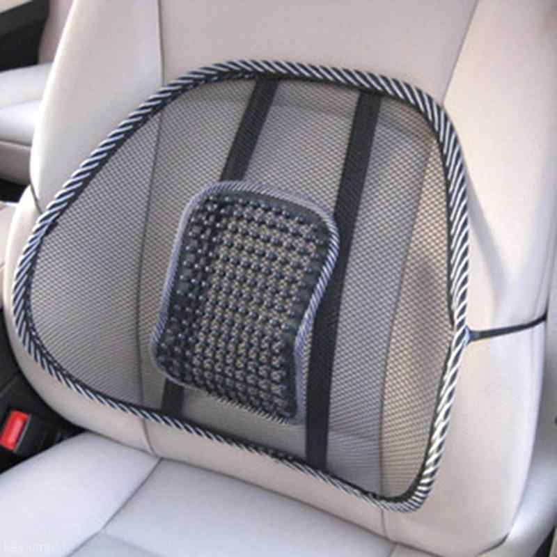 Mesh Chair Relief Lumbar Back Pain Support Car Cushion Office Seat Universal Chair Black Lumbar Cushion Car Seat Support