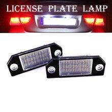 12 В 24 светодиодный светильник для номерного знака, светильник для номерного знака, аксессуары для номерных знаков, лампы для экстерьера автомобиля для фокусировки F ord