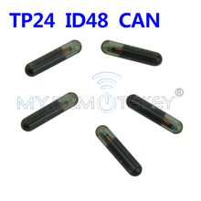 Remtekey 5 Transponder key ID48 CAN chip TP24 glass chip suitable for Skoda ID 48 chip цена 2017