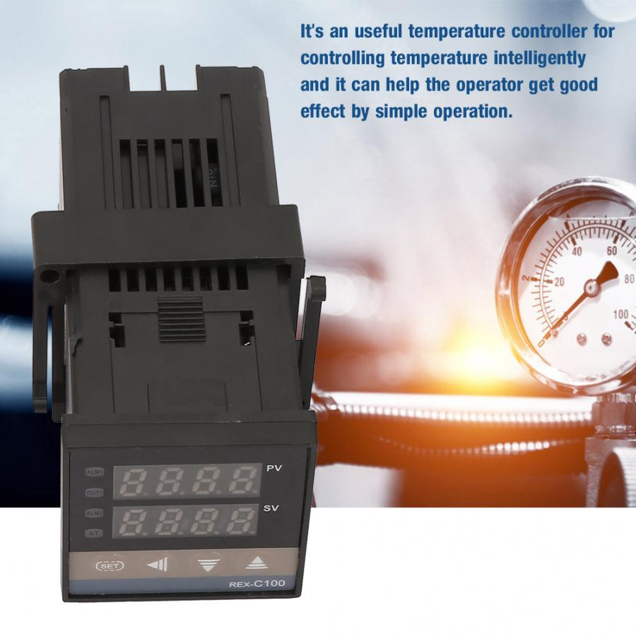 110V-240V Digital LED PID Temperature Controller Kits Thermostat Switch