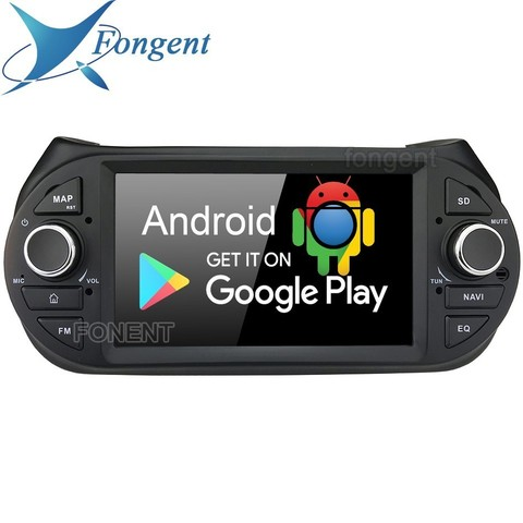 som do carro 7 ips android 9 0 auto radio navegador gps multimidia para fiat