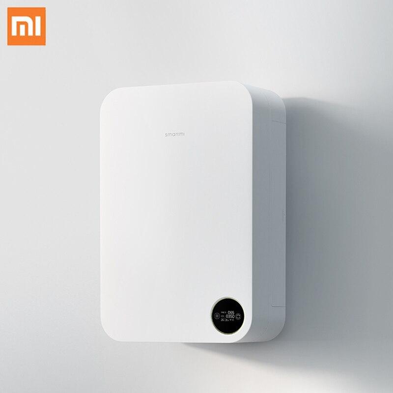 Xiaomi Smartmi Air Purifier Wall Mounted Household Silent Air Purifier APP Intelligent Control Oxygen Supply Cleaner Air Purifie