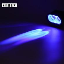 2pcs 10W 1000LM CREE Spot Driving LED Work Lights For Trucks Offroad Forklift Blue Warning Lamp Bar