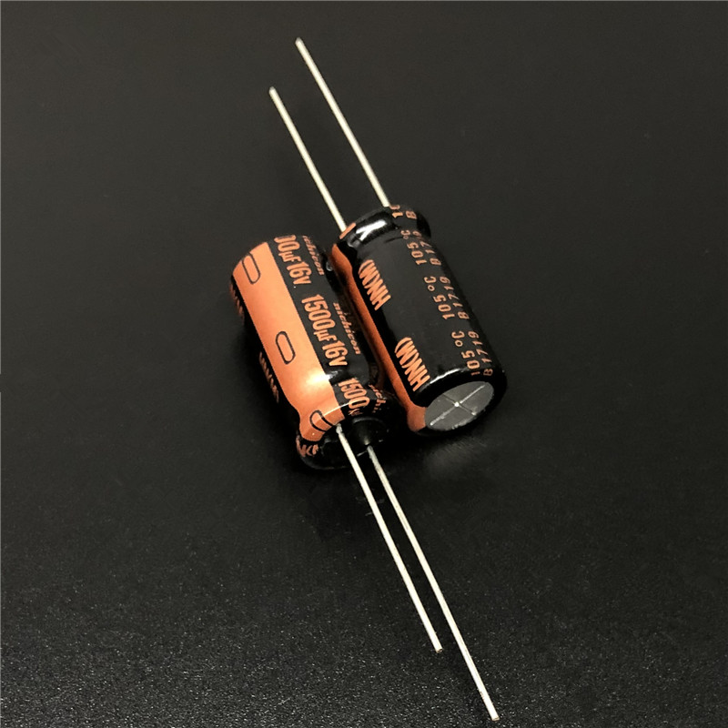 5pcs/50pcs 1500uF 16V NICHICON HN Series Ultra Low Impedance 10x20mm 16V1500uF Motherboard Capacitor