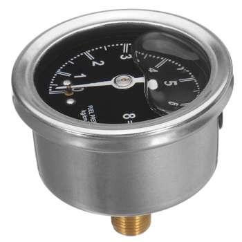Regulator ciśnienia paliwa cieczy wskaźnik poziomu oleju dla Chevy tanie i dobre opinie Front Oil Gauge Aluminum Case other CHEVROLET