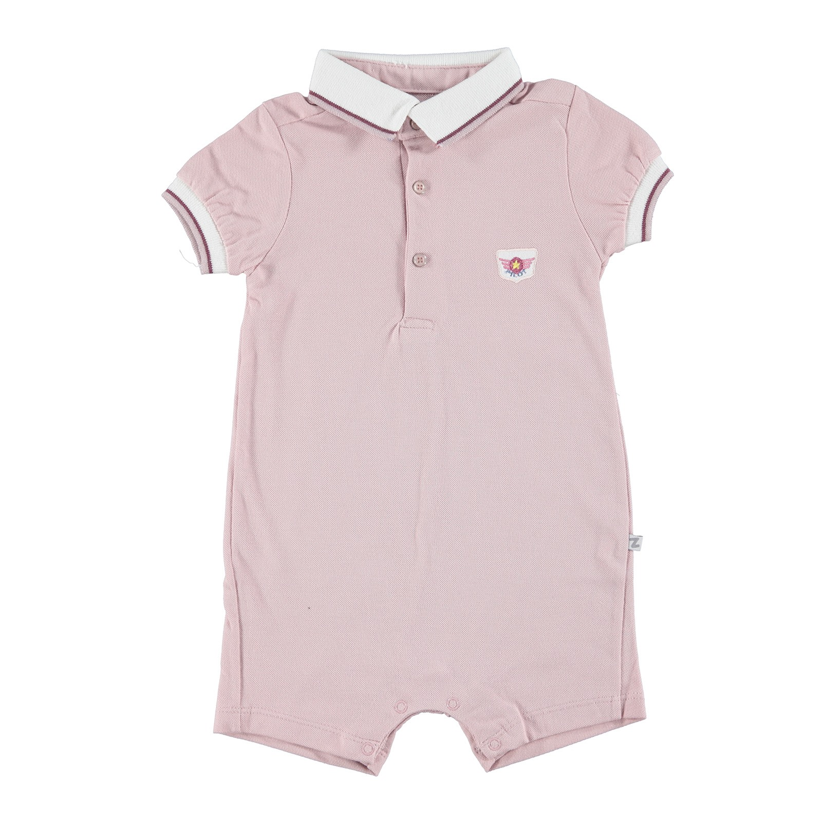 BabyZ Baby Polo Neck Fab, Pink, 9 Months