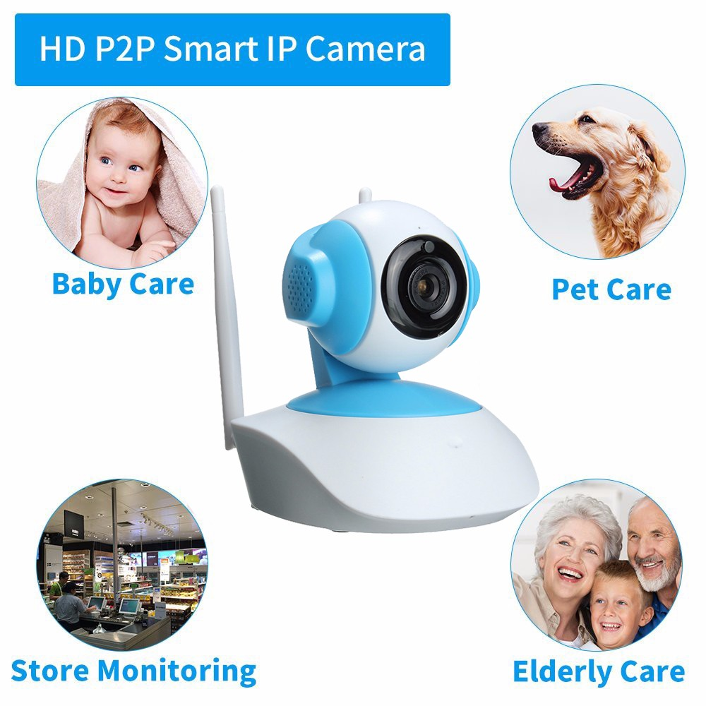 Mini Wireless WiFi 720P HD Network CCTV HOME Security IP Camera Monitor Intelligent Network HD CameraMini Wireless WiFi 720P HD Network CCTV HOME Security IP Camera Monitor Intelligent Network HD Camera