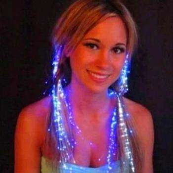 LED Flash Light Hairpin