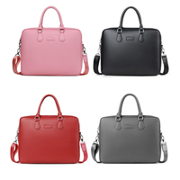 New Fashion Women Handbag Laptop Briefcase Waterproof Nylon Men Bag 14 15 Inch Case For Macbook Notebook Air Pro Shoulder Bags