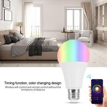 18W 15W 12W 9W 6W 3W AC100-264V 7W E27 RGBW LED Wi-Fi Smart Lamp Bulbs Smartphone Controlled Light Bulb led light bulb e27 milton j bell h neville p ielts practice tests 2 student s book