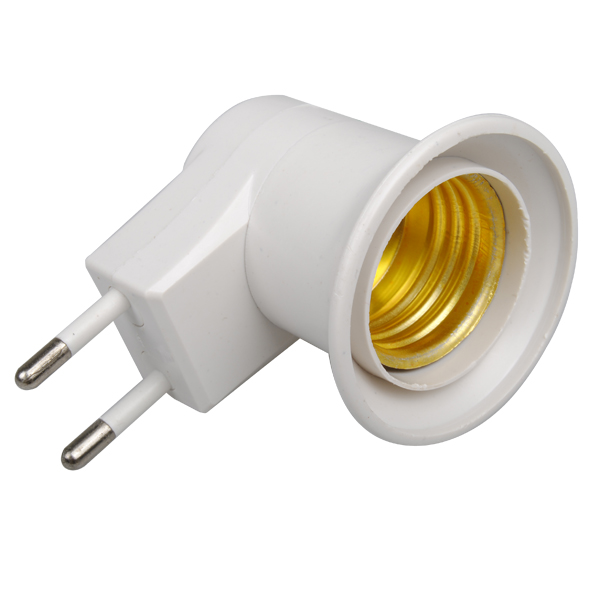 ARILUX E27 Socket Base EU Plug Night Light With Power On-off Control Switch E27 Lamp Holder Bulb Holder Lamp Base