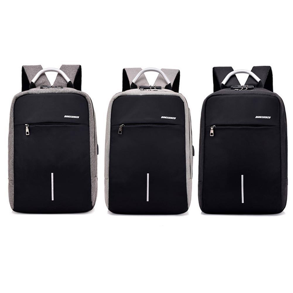 15.6 Laptop Backpack USB Charging Multi-Compartment Anti-Theft Waterproof Wear Resistance Leisure Fashionable Sports Backpack15.6 Laptop Backpack USB Charging Multi-Compartment Anti-Theft Waterproof Wear Resistance Leisure Fashionable Sports Backpack