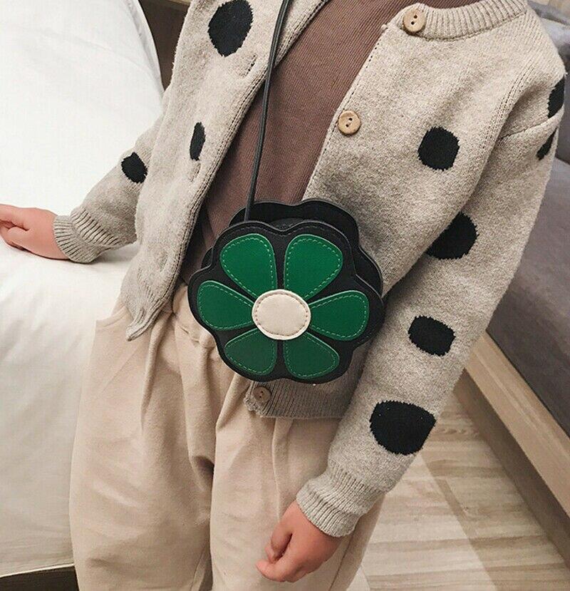 Kinder Kleinkind Mädchen Nette Blume Geformt Handtaschen Schönheit Zipper Schulter Kreuz-körper Tasche Design Chic Messenger Tasche Crossbody-taschen Kinder- & Babytaschen